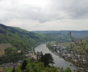 Atemberaubende Aussicht von der Grevenburg.