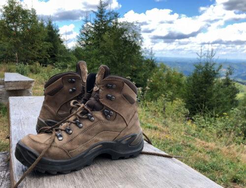 Der Weg zum idealen Wanderschuh – Footscan