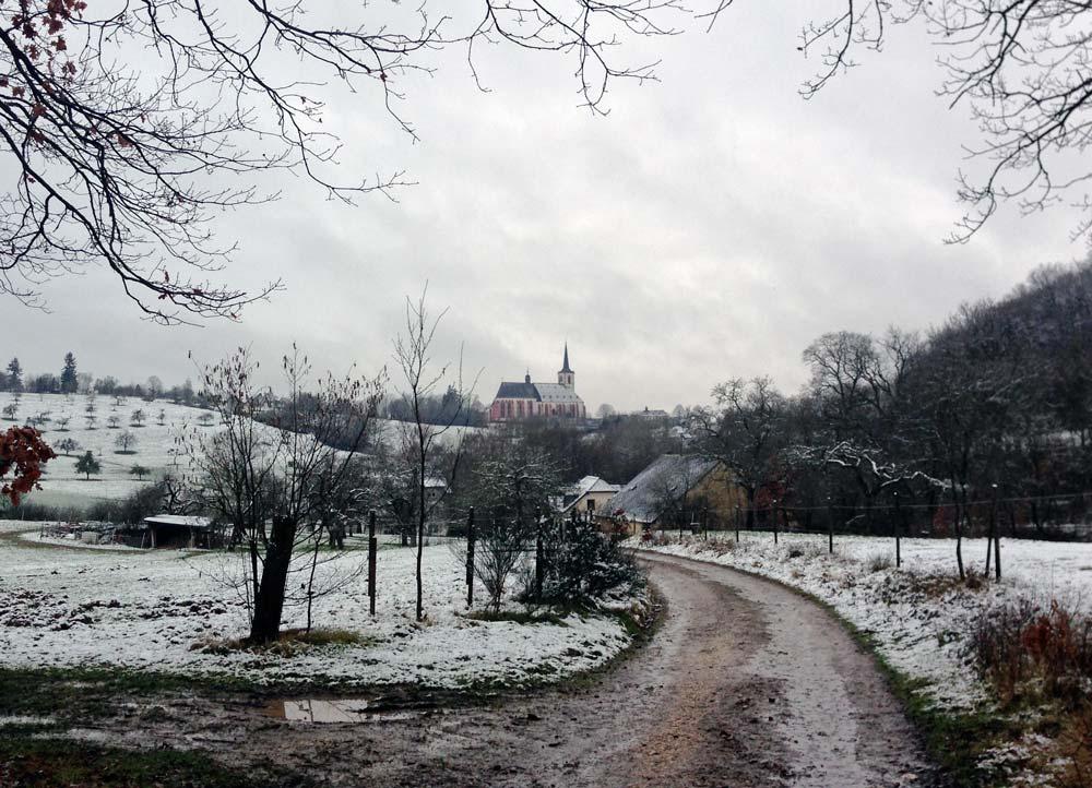 Auf dem Weg zum Kloster in Klausen