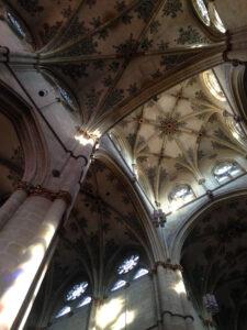 Blick zum Deckengewölbe der Liebfrauenkirche
