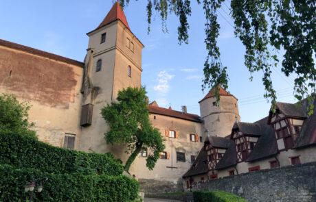 Außenansicht Schloss Harburg
