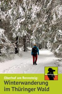 Winterwandern am Rennsteig