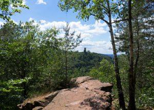 Plateau auf dem Slevogtfels