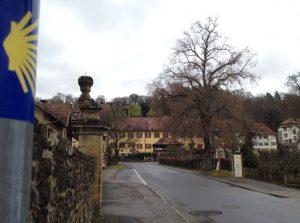 Ankunft im Kloster Schöntal
