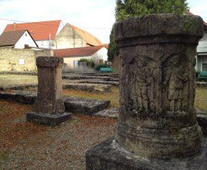 Mauerreste in Jagsthausen